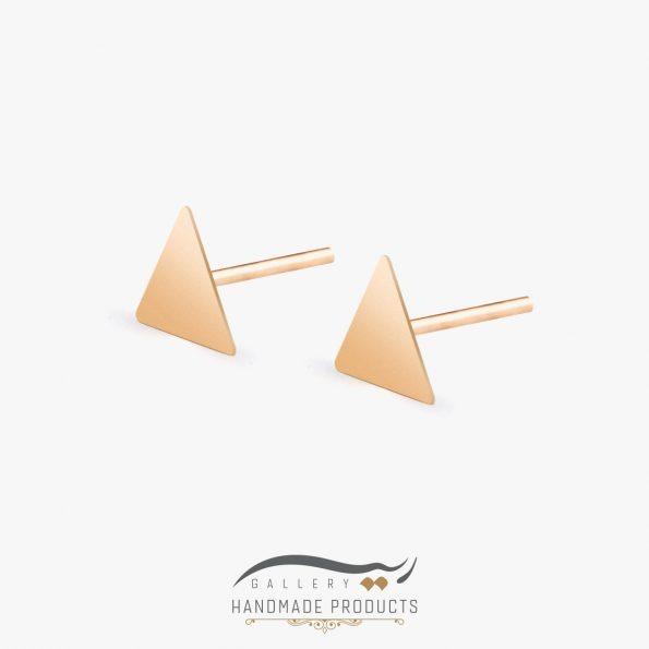 گوشواره طلا زنانه مثلث