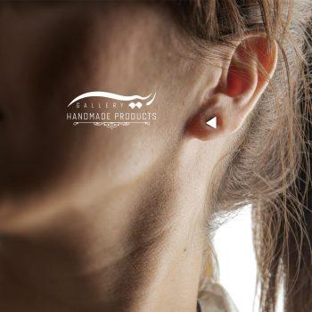 گوشواره طلا زنانه مثلث ریسه گالری