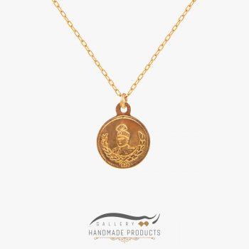 گردنبند طلا زنانه احمد شاه قاجار