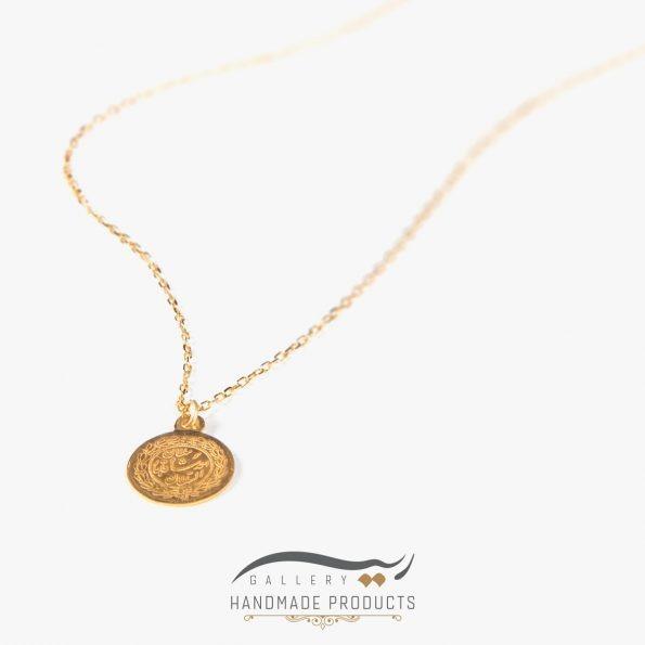 گردنبند طلا زنانه احمد شاه قاجار زیورآلات دست ساز ریسه گالری