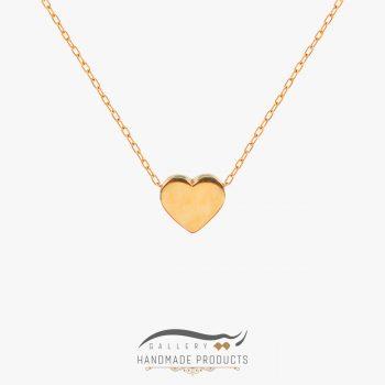 گردنبند طلا زنانه قلب
