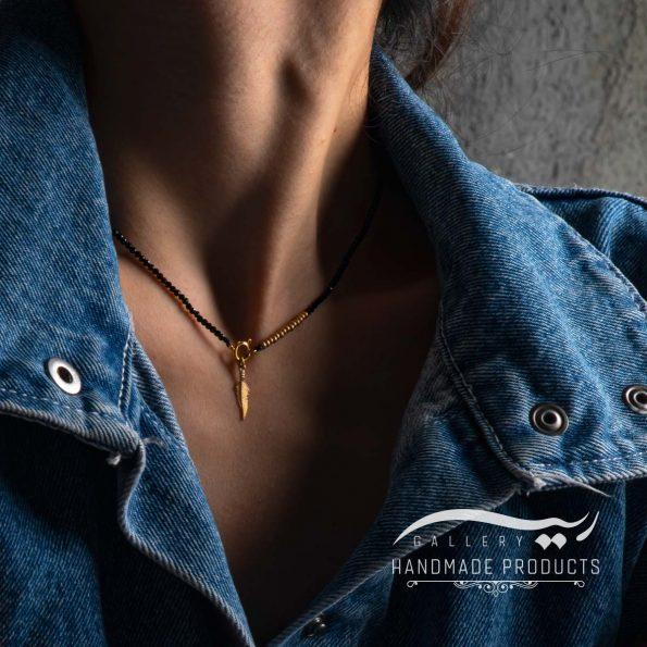 گردنبند طلا زنانه همای زیورآلات دست ساز ریسه گالری