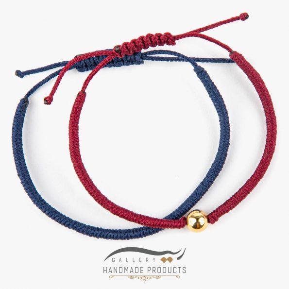 عکس دستبند طلا زنانه بافت