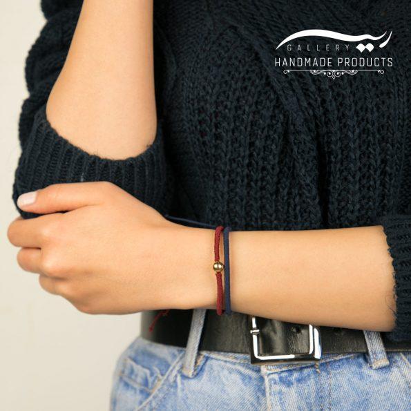 دستبند طلا زنانه بافت
