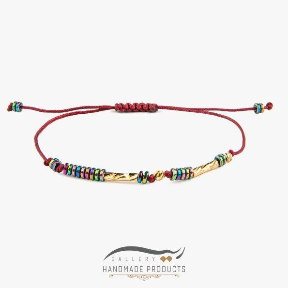 دستبند طلا زنانه ایتالیایی