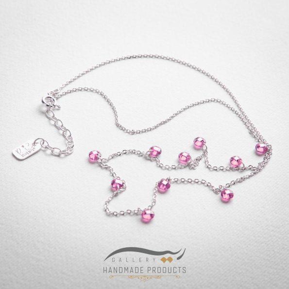 گردنبند نقره زنانه پرنسس زیورآلات دست ساز ریسه گالری