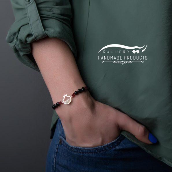 مدل دستبند طلا زنانه اناردون