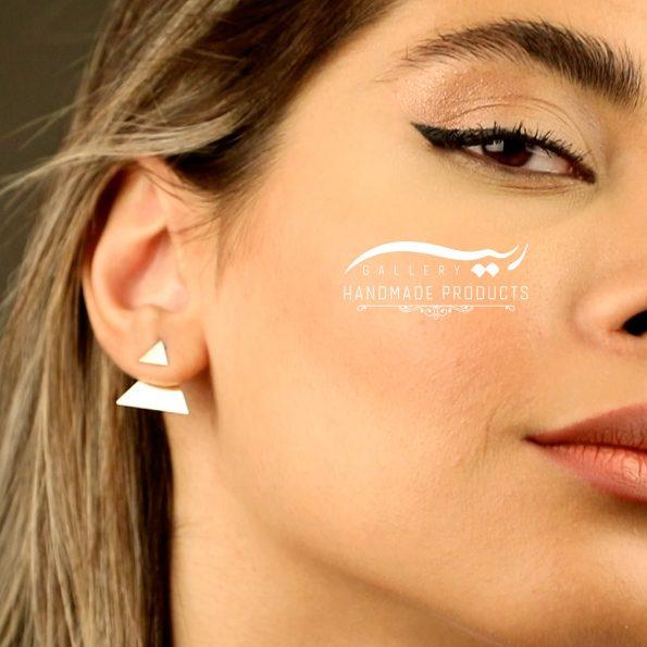 مدل گوشواره طلا زنانه برمودا ریسه گالری
