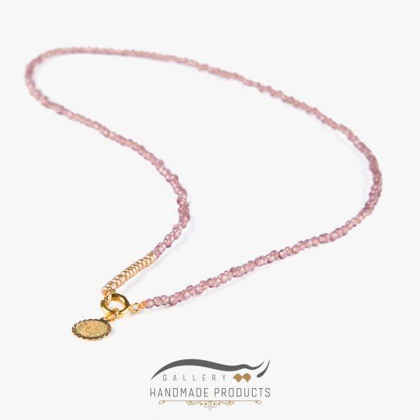 عکس گردنبند طلا زنانه آنا