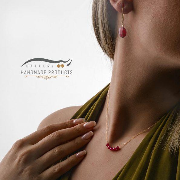 مدل گردنبند طلا زنانه اشرافی زیورآلات دست ساز ریسه گالری
