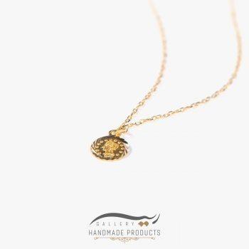 عکس گردنبند طلا زنانه الیزابت