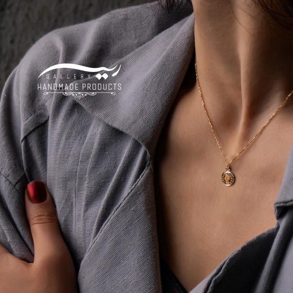 مدل گردنبند طلا زنانه الیزابت
