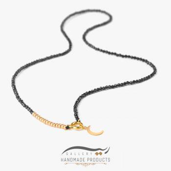 عکس گردنبند طلا زنانه ماه