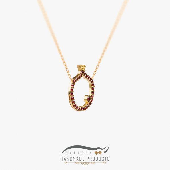 عکس گردنبند طلا زنانه نارون