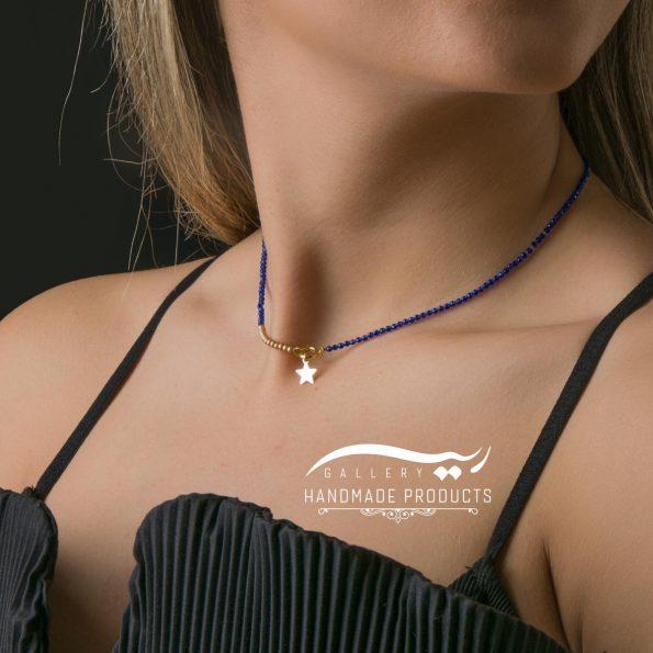 مدل گردنبند طلا زنانه ستاره ریسه گالری
