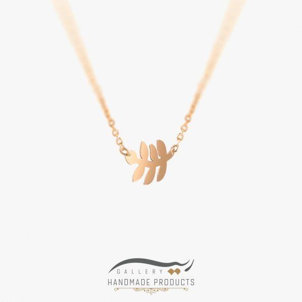 عکس گردنبند طلا زنانه گندم