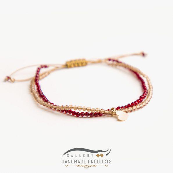 عکس دستبند طلا زنانه لیدی هارت