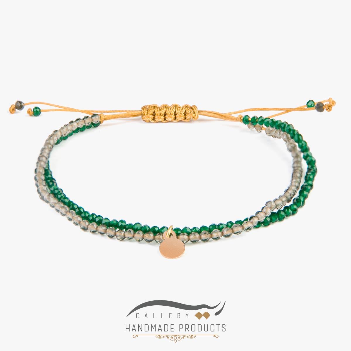 دستبند طلا زنانه لیدی کویین