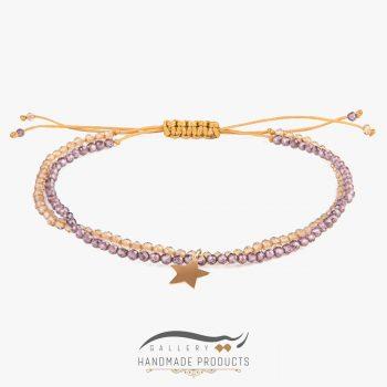 دستبند طلا زنانه لیدی استار