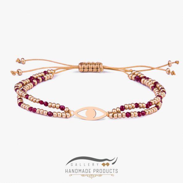 دستبند طلا زنانه مصری