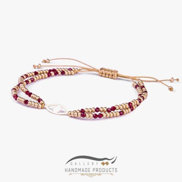 مدل دستبند طلا زنانه مصری