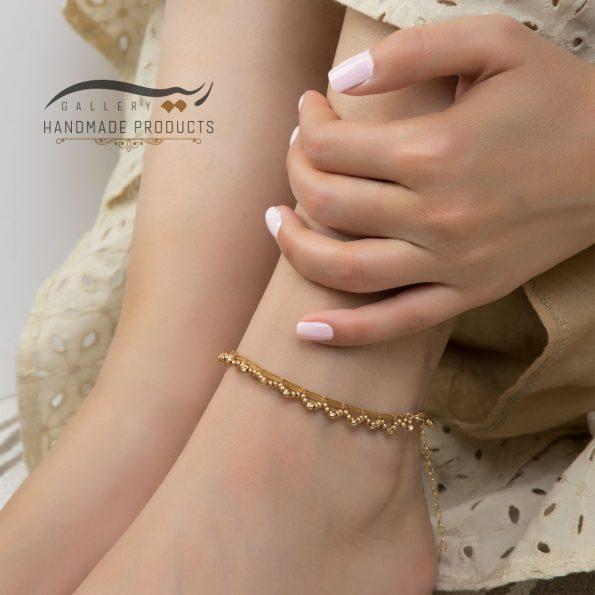 مدل پابند طلا زنانه مانیکا