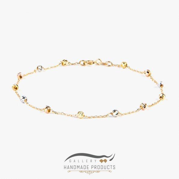 دستبند طلا زنانه برناردو