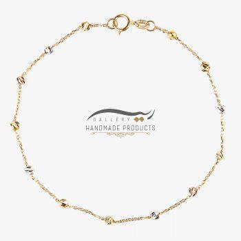 عکس دستبند طلا زنانه برناردو