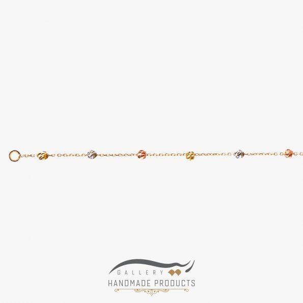 جدیدترین عکس دستبند طلا زنانه برناردو