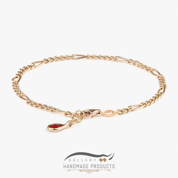 دستبند طلا زنانه فیگارو
