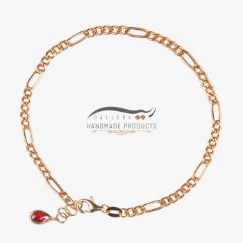 عکس دستبند طلا زنانه فیگارو