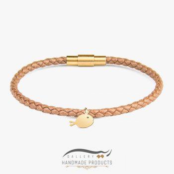دستبند طلا زنانه ماهی طلایی