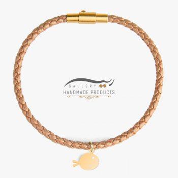 عکس دستبند طلا زنانه ماهی طلایی