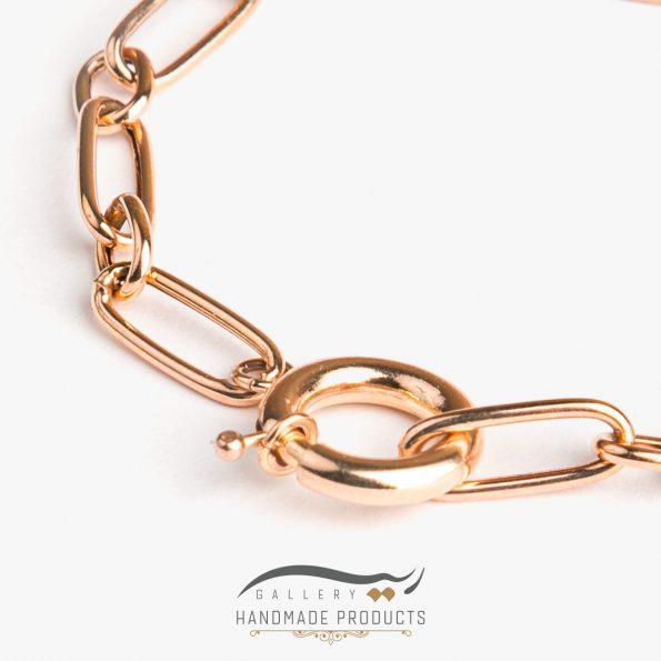 دستبند طلا زنانه هرموسا
