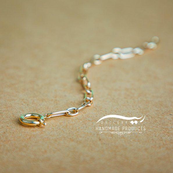 عکس دستبند طلا زنانه هرموسا