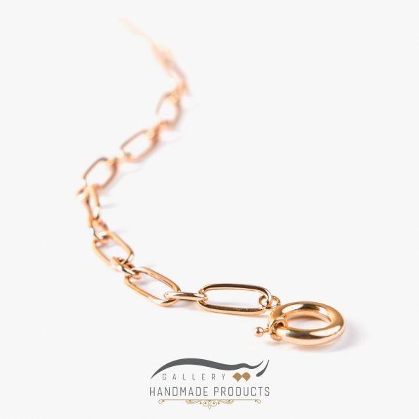 تصویر دستبند طلا زنانه هرموسا