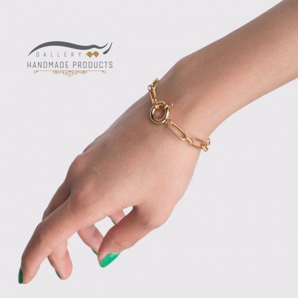 مدل دستبند طلا زنانه هرموسا