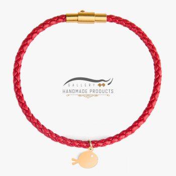 عکس دستبند طلا زنانه ماهی گلی
