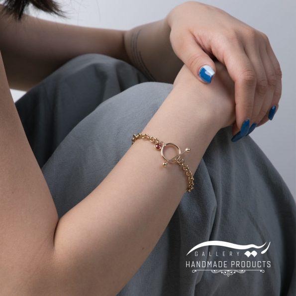 مدل دستبند طلا زنانه رولو