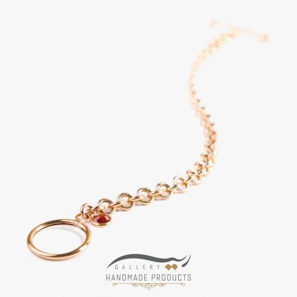 عکس دستبند طلا زنانه رولو