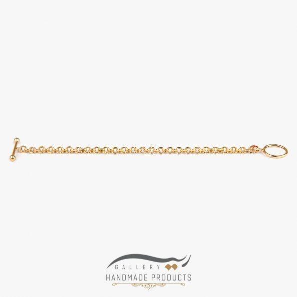 تصویر دستبند طلا زنانه رولو