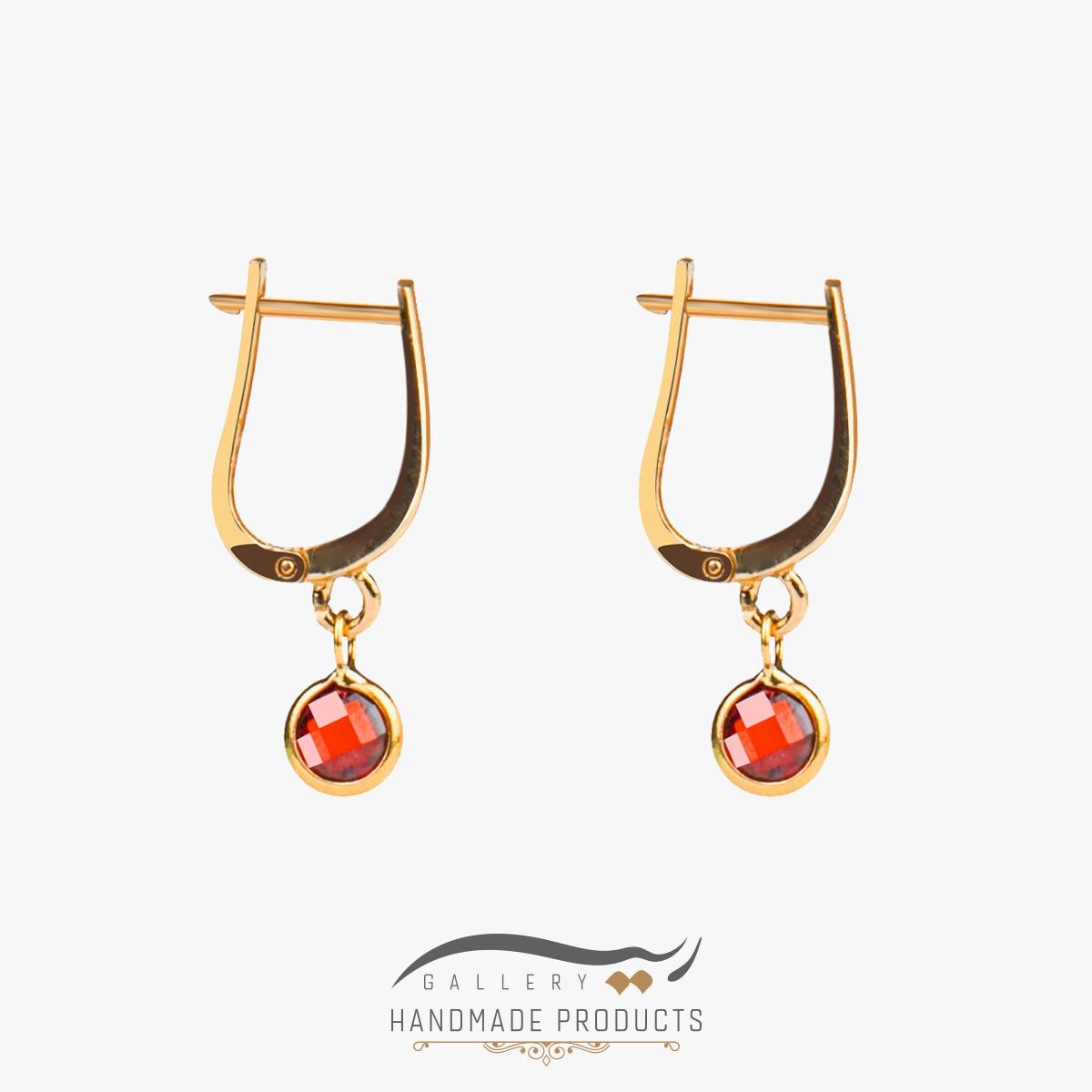 گوشواره طلا زنانه انگلیسی