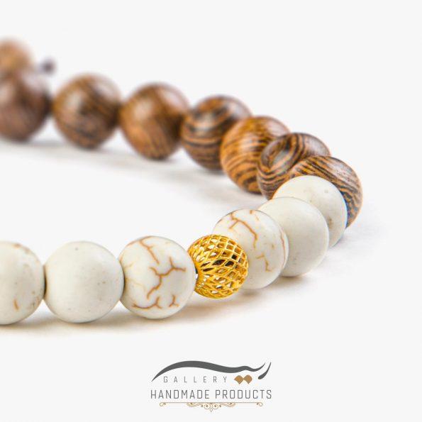 تصویر دستبند طلا مردانه دیلن