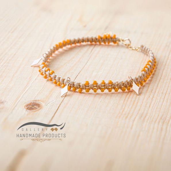 تصویر پابند طلا زنانه خشت