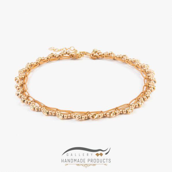 پابند طلا زنانه مانیکا