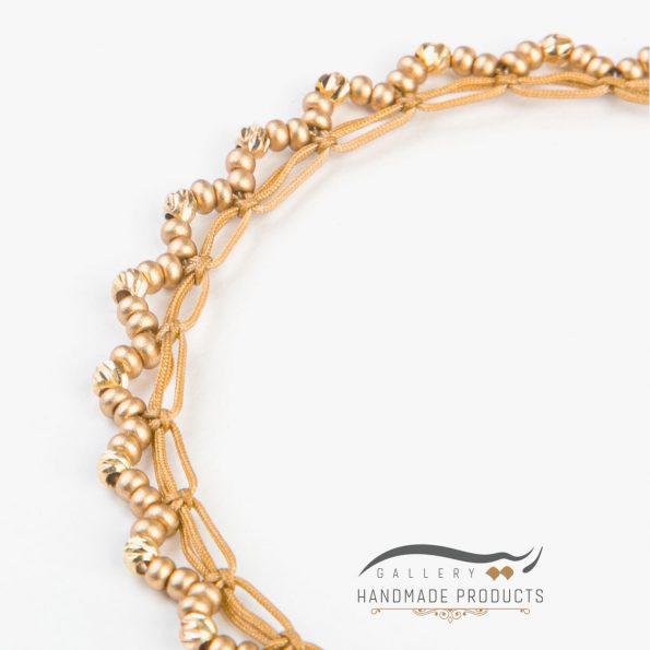جدیدترین عکس پابند طلا زنانه مانیکا