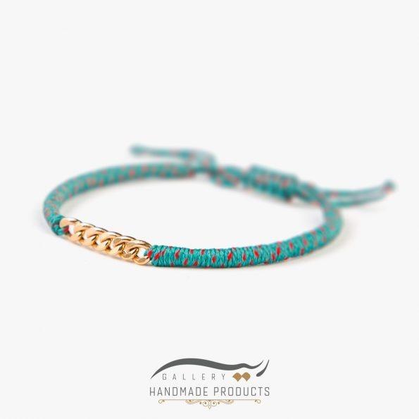 تصویر دستبند طلا زنانه فلیکس