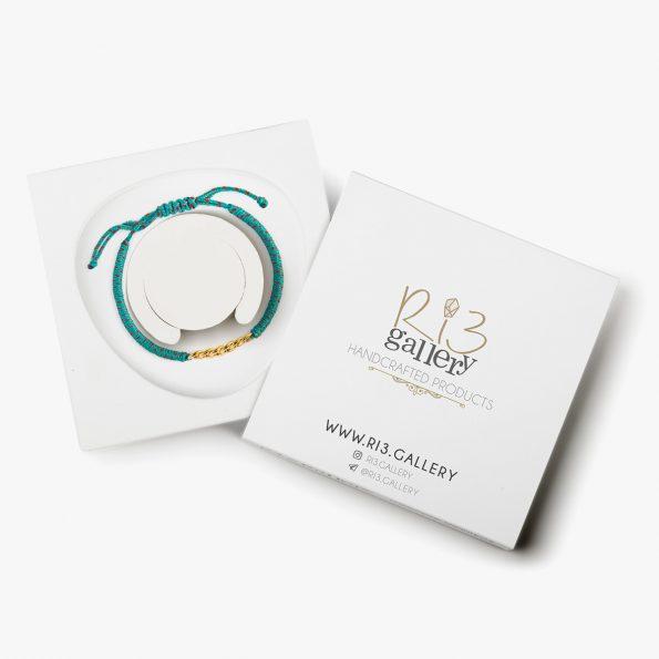 بسته بندی دستبند طلا زنانه فلیکس