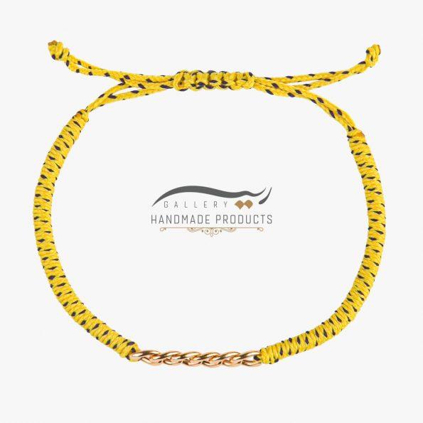 عکس دستبند طلا زنانه ماریا
