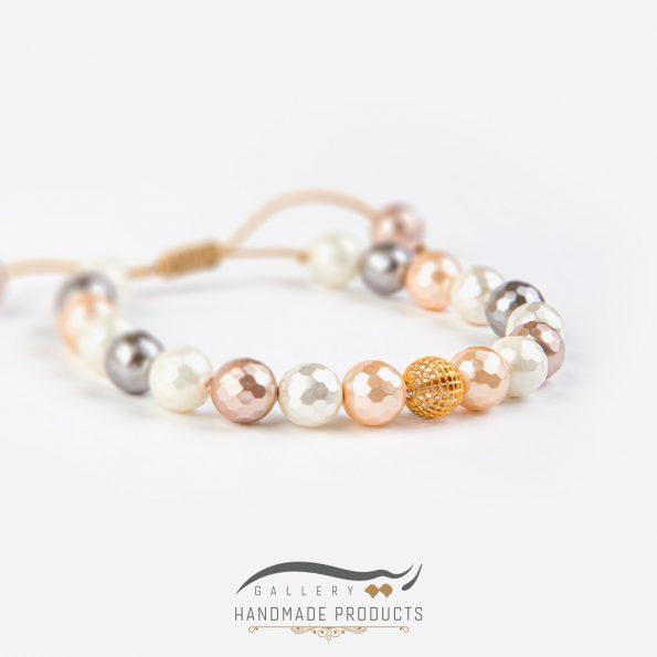 جدیدترین مدل دستبند طلا زنانه نیل